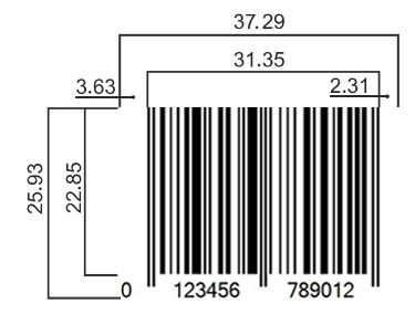 Retail Barcode Specifications